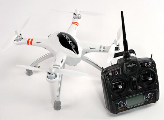 Walkera QR X350 PRO FPV GPS RC Quadrotor DEVO 7 (Modo 1) (pronto para voar)