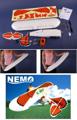 Nemo 3D EPP espuma Avião ARF