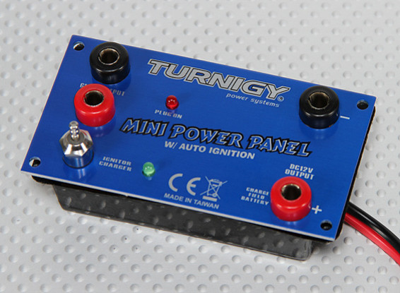 Turnigy Power Panel Mini - 12v com Auto Brilho do Driver