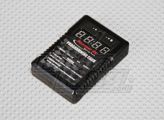 RC Scanner 1 / cartão de programação Car ESC 10º