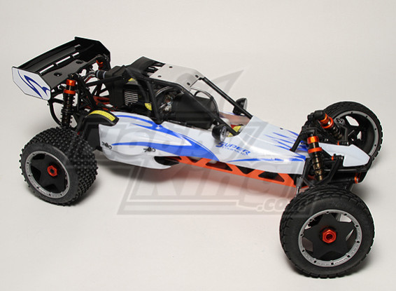 Passatempo Rei Baja 260 1 / 5th Scale 26cc Dune Buggy KIT (Armazém US)