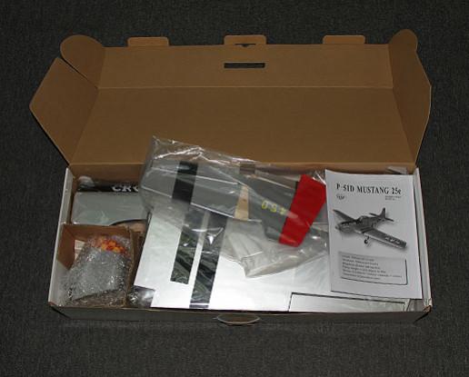 RISCO / DENT P-51D Old Crow 1.206 milímetros Balsa (ARF)