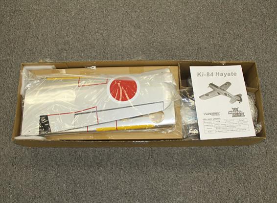 RISCO / DENT - HobbyKing Ki-84 Hayate Warbird Composite 1140 milímetros (ARF)