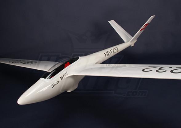 Salto-H101 Fibra de vidro Glider 2.68M (105.5in) ARF