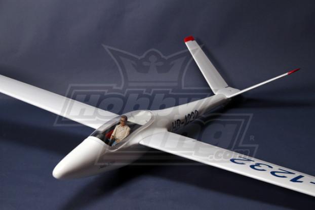 H101 Salto 2.45m Scale Kit Planador w / UltraDetail Pilot e Cockpit