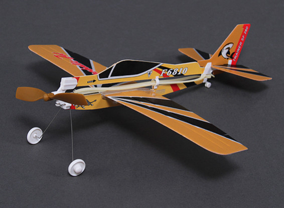 Rubber Band Alimentado Freeflight Marchetti Modelo 310 milímetros Span