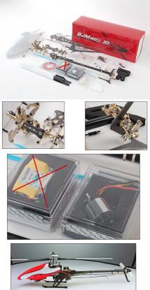Kit ARTF SJM 400II Extreme 3D w / Brushless