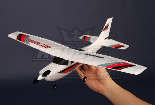 Micro Aircraft Luz 2.4Ghz Avião w / 2.4Ghz Ready-2-Fly