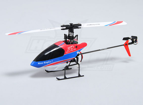 Solo PRO 100 3G Flybarless 3D Micro Helicopter (AUS ligar) (RTF)
