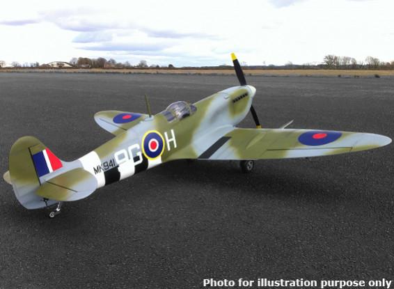 Supermarine Spitfire Mk IX 50cc composto 2.250 milímetros Gas (ARF)