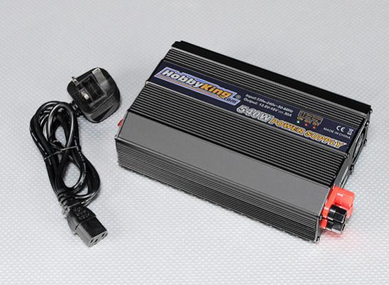 HobbyKing 540w 220 ~ 240V Power Supply com o Reino Unido plugue (13.8V ~ 18V - 30 ampères)