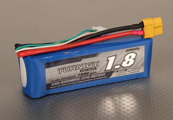 Turnigy 1800mAh 4S 20C Lipo pacote