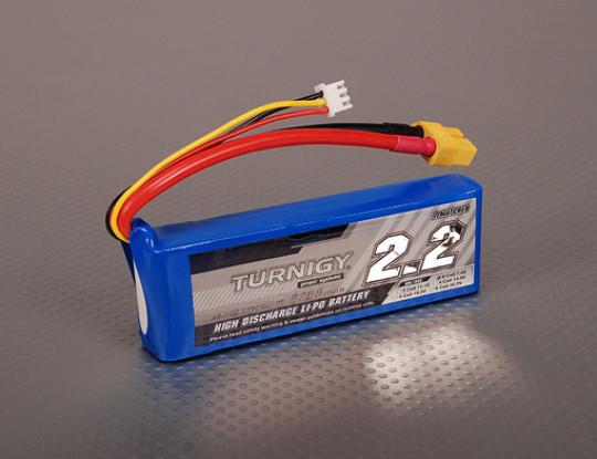 Turnigy 2200mAh 2S 40C Lipo pacote