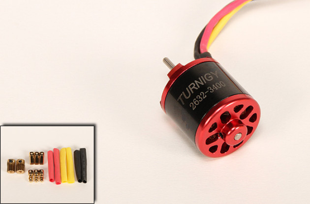 3400kv Turnigy 2632 Brushless