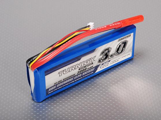 Turnigy 3000mAh 2S 30C Lipo pacote