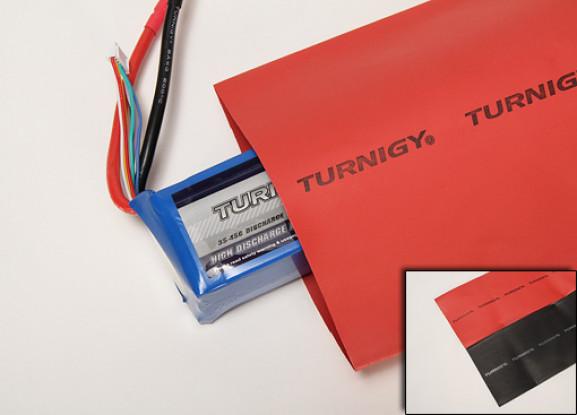 Turnigy psiquiatra do calor do tubo 100 milímetros PRETO (1mtr)