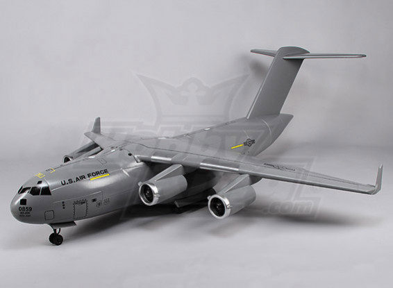 USAF C17 Globemaster III EDF Carga Jet (P & P)