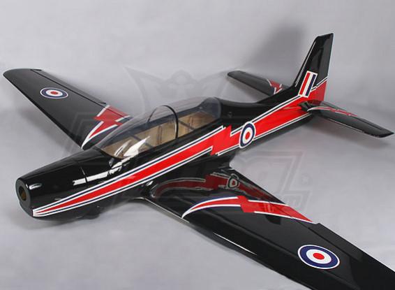 (Completo) Curto Tucano RAF 30cc Fiberglass 2.150 milímetros (ARF)