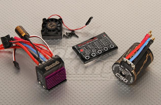 5000kv Brushless Power System Car / 75A
