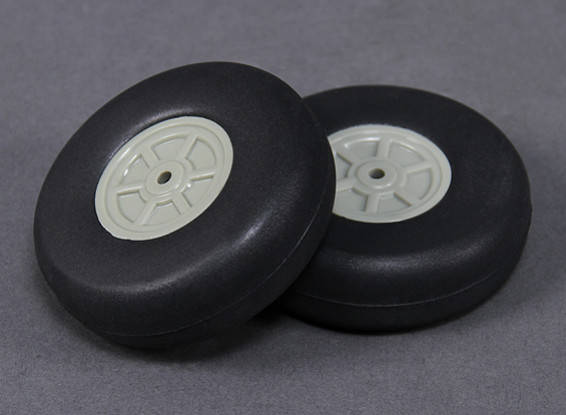 Leve Scale 75 milímetros roda (2pc)