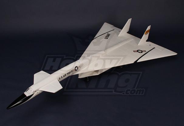 XB-70 Valkyrie jato supersónico de 70 milímetros EDF Plug-n-Fly