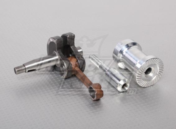 XYZ Crank, Pin & Prop Kit Boss, Motor Part Number 4 & 11 & 12 (26cc)