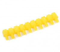 10 milímetros M / F M3 Spacer x10 - Amarelo