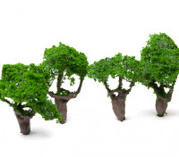 HobbyKing™ 60mm Scenic Wire Model Trees (4 pcs)