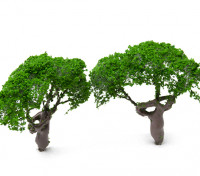 HobbyKing™ 80mm Scenic Wire Model Trees (2 pcs)