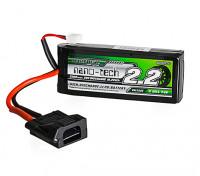Turnigy nano-tech 2200mAh 2S 30C LiPo Pack w/ Flat Connector