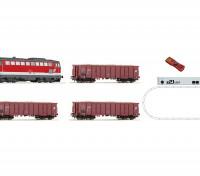 Roco HO Digital Starter Train Set with Class 2043 Diesel Locomotive (OBB), 3 Freight Wagons and Z21  Digital System