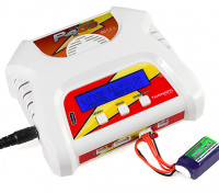 Turnigy P403 LiPoly / LiFe AC/DC Battery Charger (UK Plug)