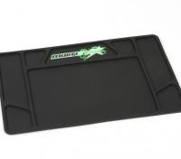 MultiStar Rubber R / C tapete de trabalho (395 x 250 mm)