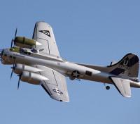 Hobbyking 1.875 milímetros B-17 F / G Flying Fortress (V2) P & P (Silver)