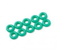O-ring Kit 3mm (verde) (10pcs / saco)
