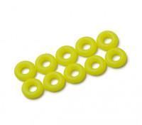 O-ring Kit 3mm (Neon Amarelo) (10pcs / saco)