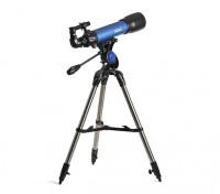 Telescópio Altazimuth, olhando estrelas e observação terrestre.