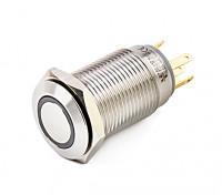 interruptor 16 milímetros de metal