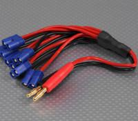 4 milímetros Banana Plug com 6 x EC3 plug Harness carregamento
