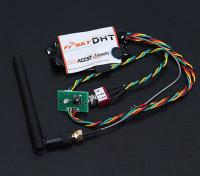 FrSky DHT 8ch DIY Telemetria módulo transmissor Compatível