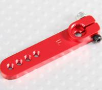 Heavy Duty Alloy 1.25in Servo Arm - Futaba (vermelho)