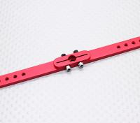 Pesado 4.5in Dever Alloy Pull-Pull Servo Arm - Futaba (vermelho)