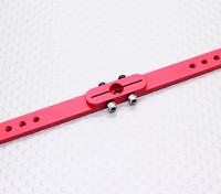 Pesado 4.5in Dever Alloy Pull-Pull Servo Arm - JR (vermelho)