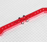 Pesado 4.2in Dever Alloy Pull-Pull Servo Arm - JR (vermelho)