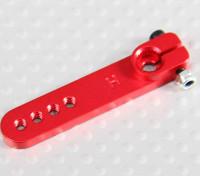 Alloy Heavy Duty 1.25in Servo Arm - Hitec (vermelho)