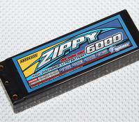ZIPPY 6000mAh 2S2P 50C Hardcase pacote