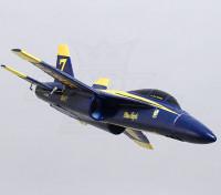 Anjos azuis F-18 35 milímetros EDF Micro Jet EPO (PNF)