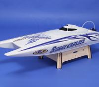 Surge Super Crusher 90A Dupla-Hull Brushless R / C barco (730 milímetros) (ARR)