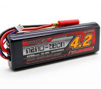 Turnigy nano-tecnologia 4200mAh 2S2P 40 ~ 80C (Hardcase da vara pacote)