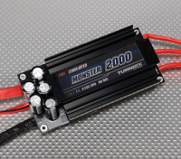 Turnigy Monstro-2000 200A 4-12S Brushless ESC